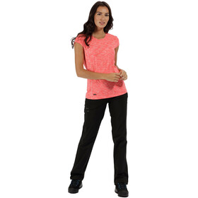 Regatta Hyperdimension SS T-Shirt Women Fiery Coral